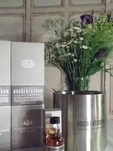 Auchentoshan and flowers