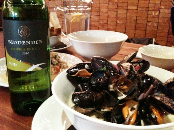 Gribble Ridge and mussels