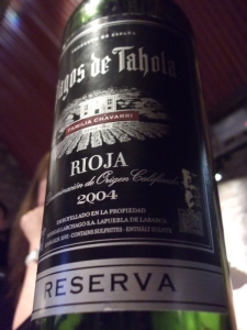 2004 Rioja reserva