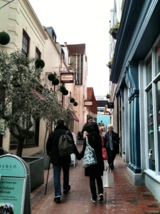 shopping in The Lanes