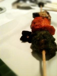 3 different chicken tikka, Moti Mahal, Covent Garden, London