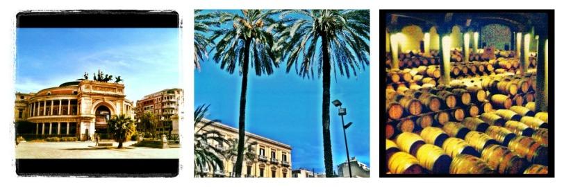 Palermo & cellars in Marsala