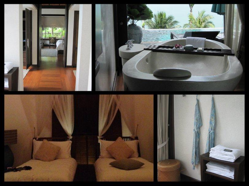 the villa interiors