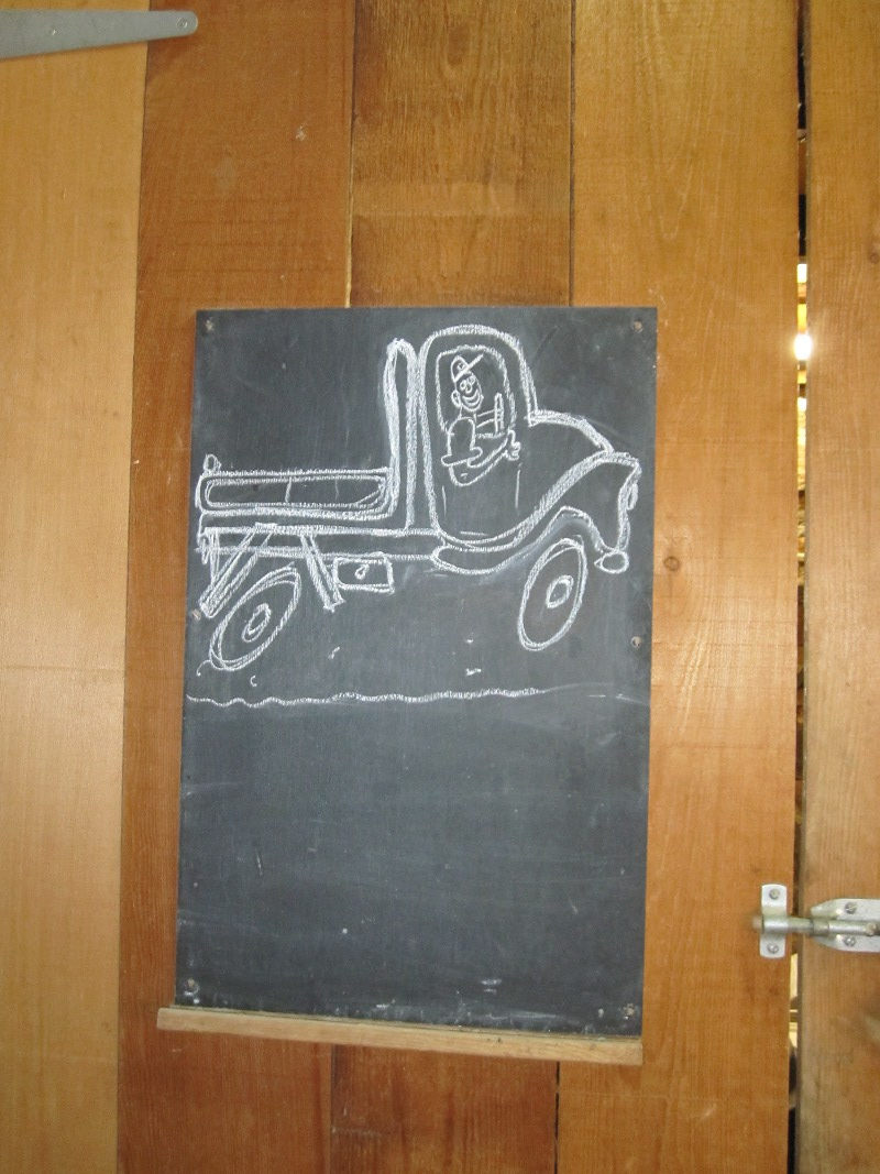 winery noticeboard